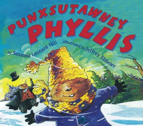 "Book cover for ""Punxsutawney Phyllis"""