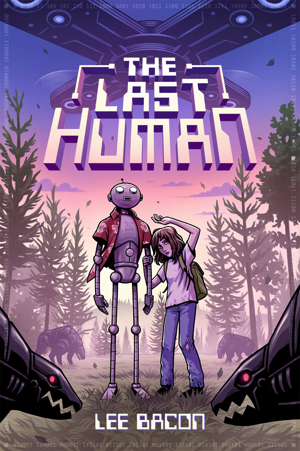 """The Last Human"" book cover"
