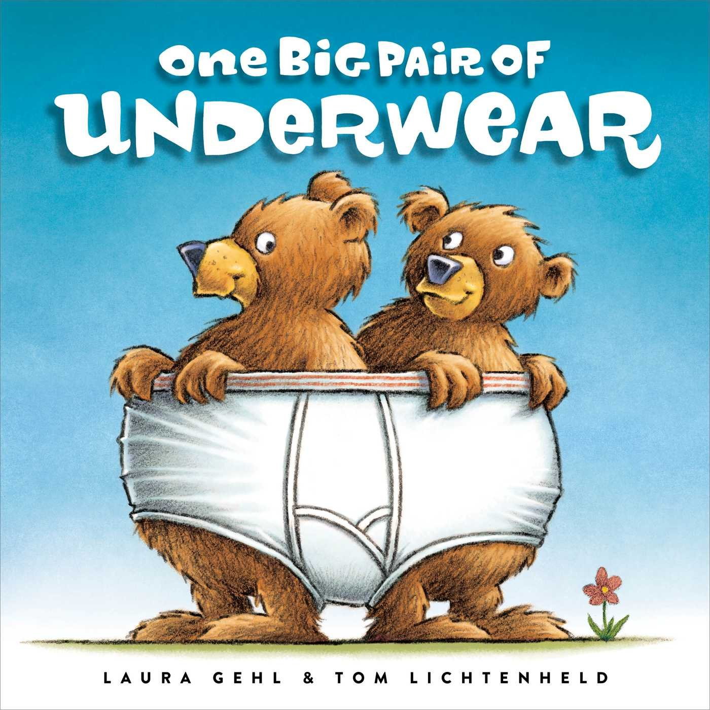 "Book cover for ""One big pair of underwear"""