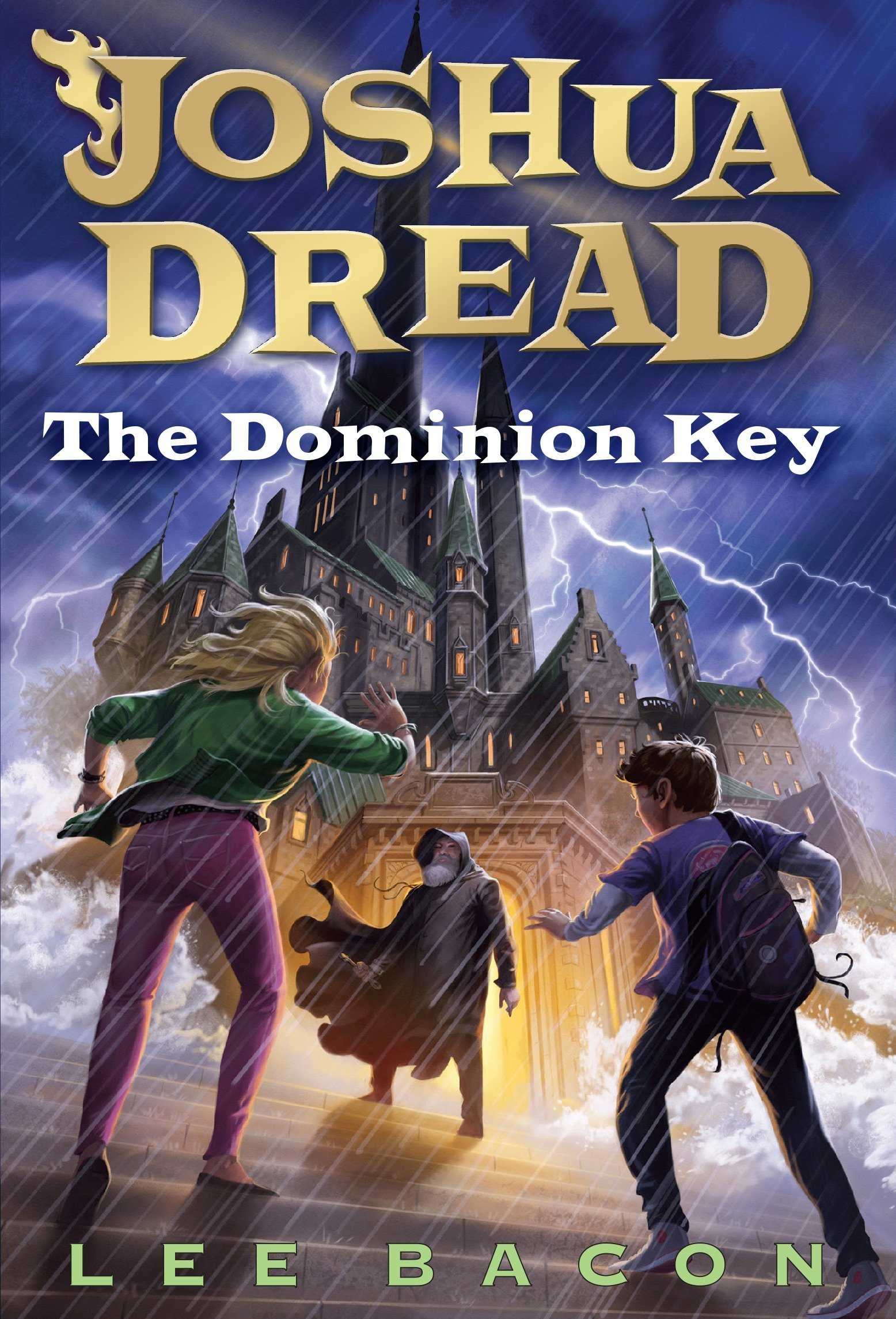 "Book cover for ""The Dominion Key"""