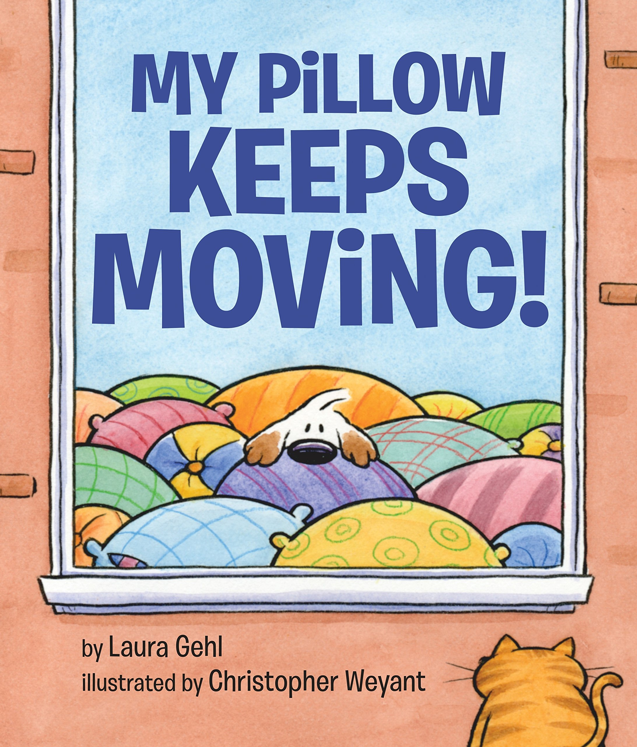 "Book cover for ""My Pillow Keeps Moving"""
