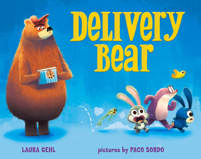 "Book cover for ""Delivery bear"""