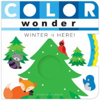 Color Wonder Winter is Here cover
