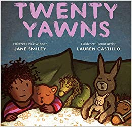 "Book cover for ""Twenty Yawns"""