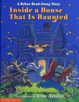 "Book cover for ""Inside a House that is Haunted"""