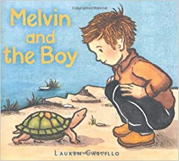 "Book cover for ""Melvin and the Boy"""