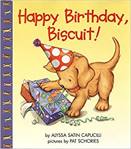 "Book cover for ""Happy Birthday, Biscuit!"""