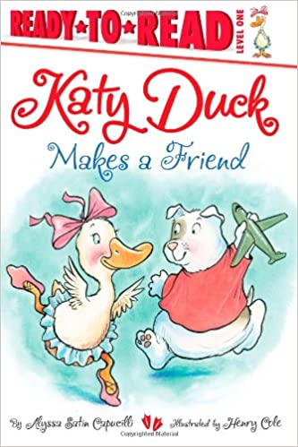 "Book cover for ""Katy Duck Makes a Friend"""