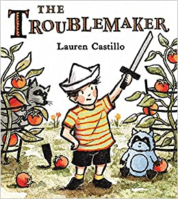"Book cover for ""The Troublemaker"""