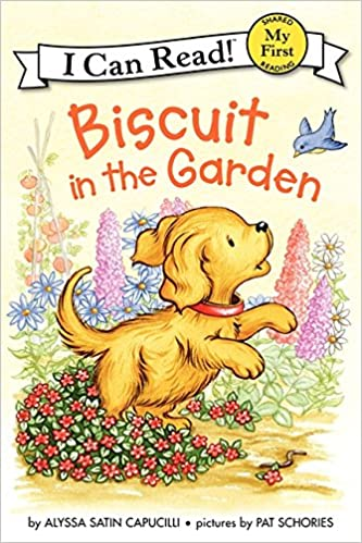 "Book cover for ""Biscuit in the Garden"""