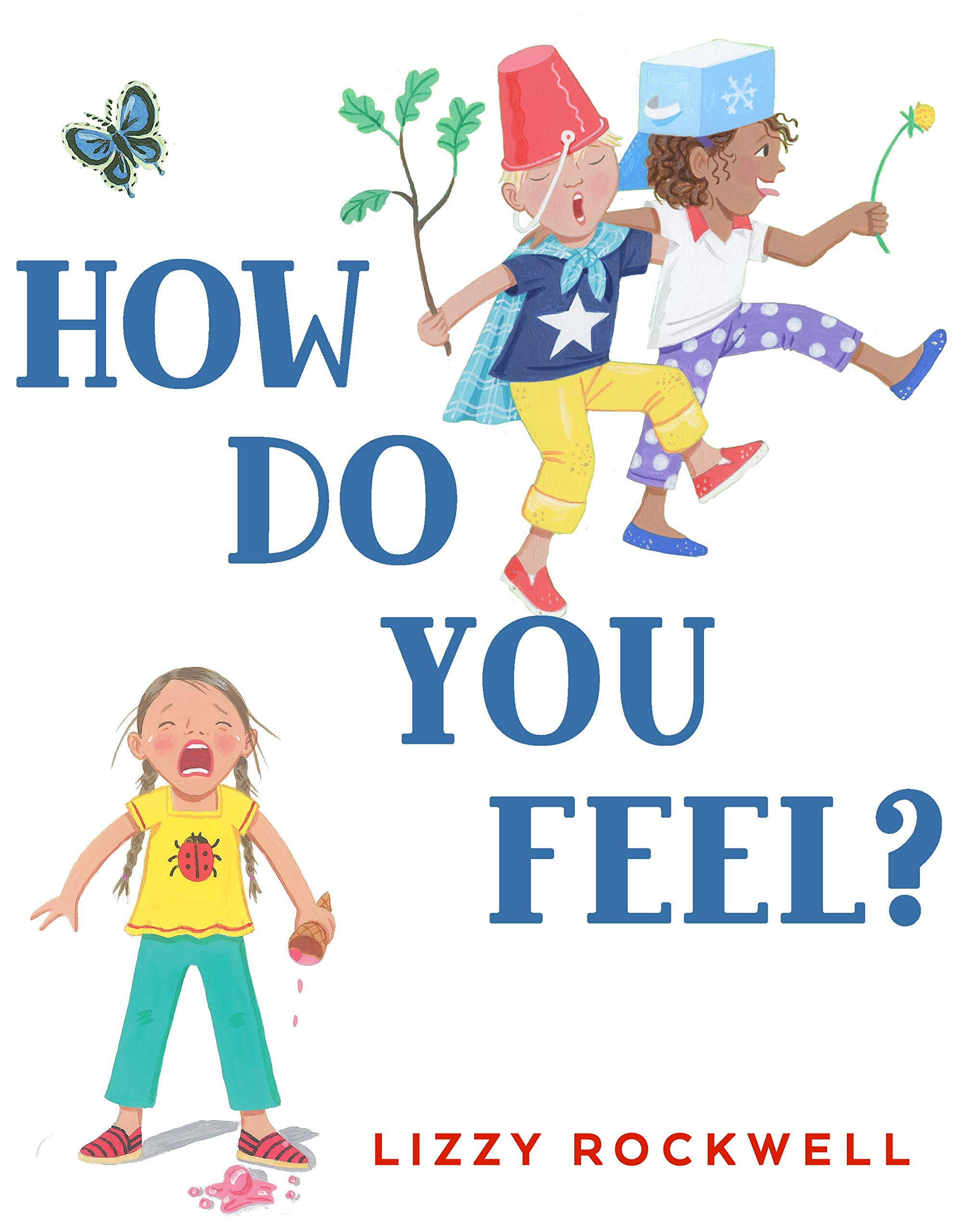 "Book cover for ""How do you Feel?"""