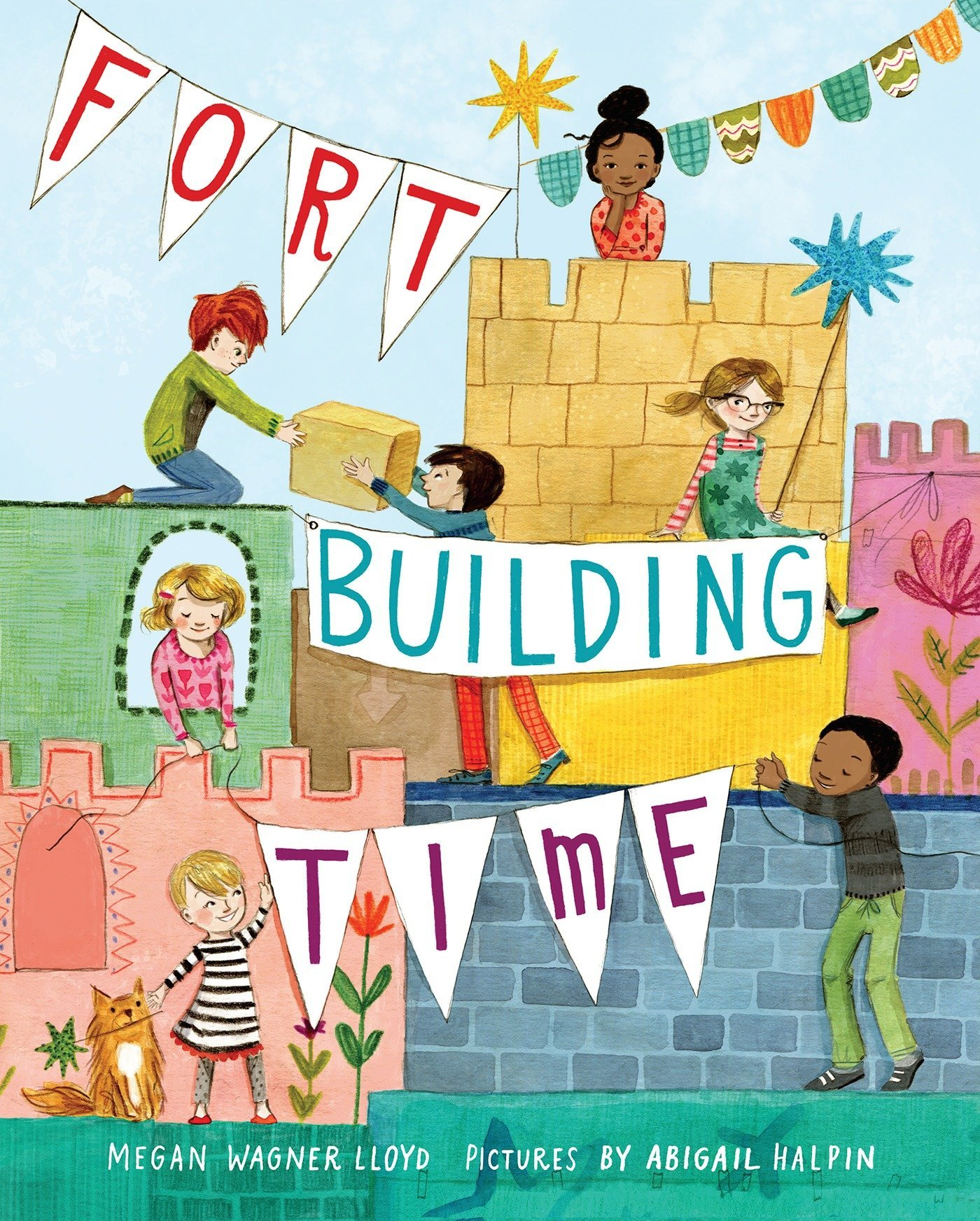 "Book cover for ""Fort-Building Time"""
