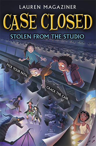 "Book cover for ""Case closed : Book 2 : Stolen from the Studio"""