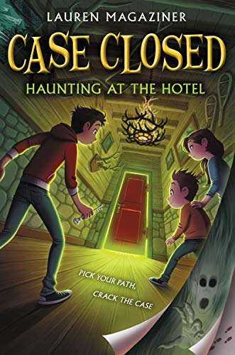 "Book cover for ""Case Closed: Haunting at the Hotel"""