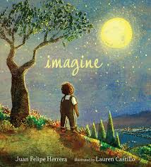 "Book cover for ""Imagine"""