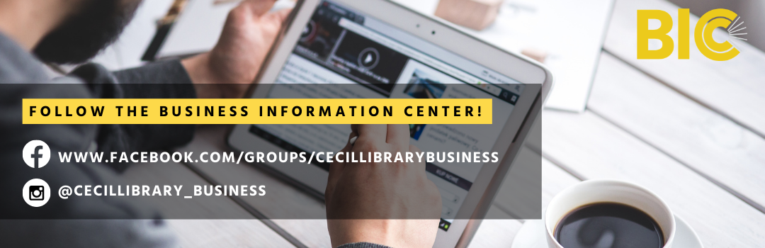 Follow the Business Information Center on Social Media
