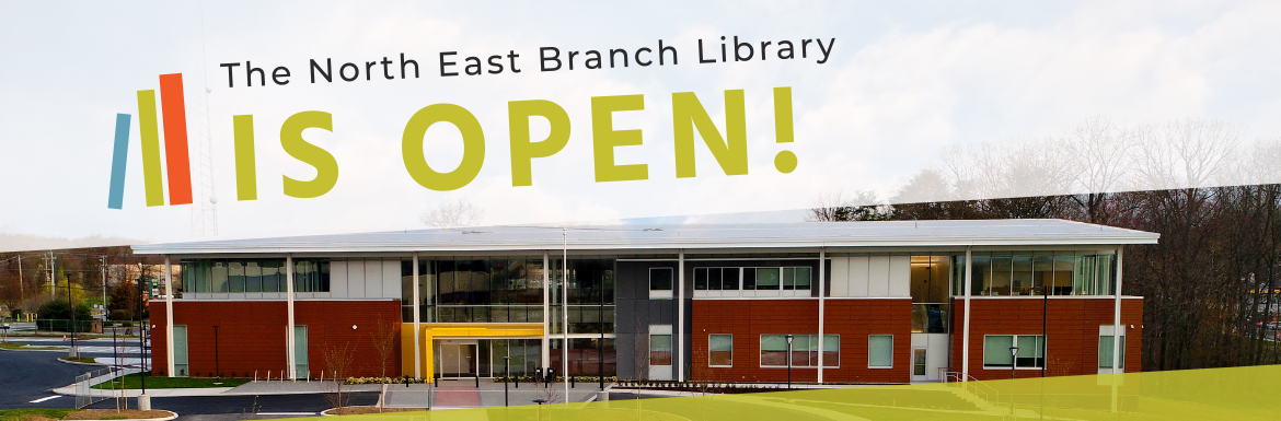 The North East Branch Library is open!