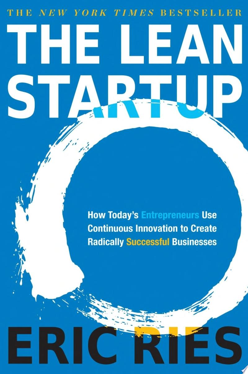 "Image for ""The Lean Startup"""