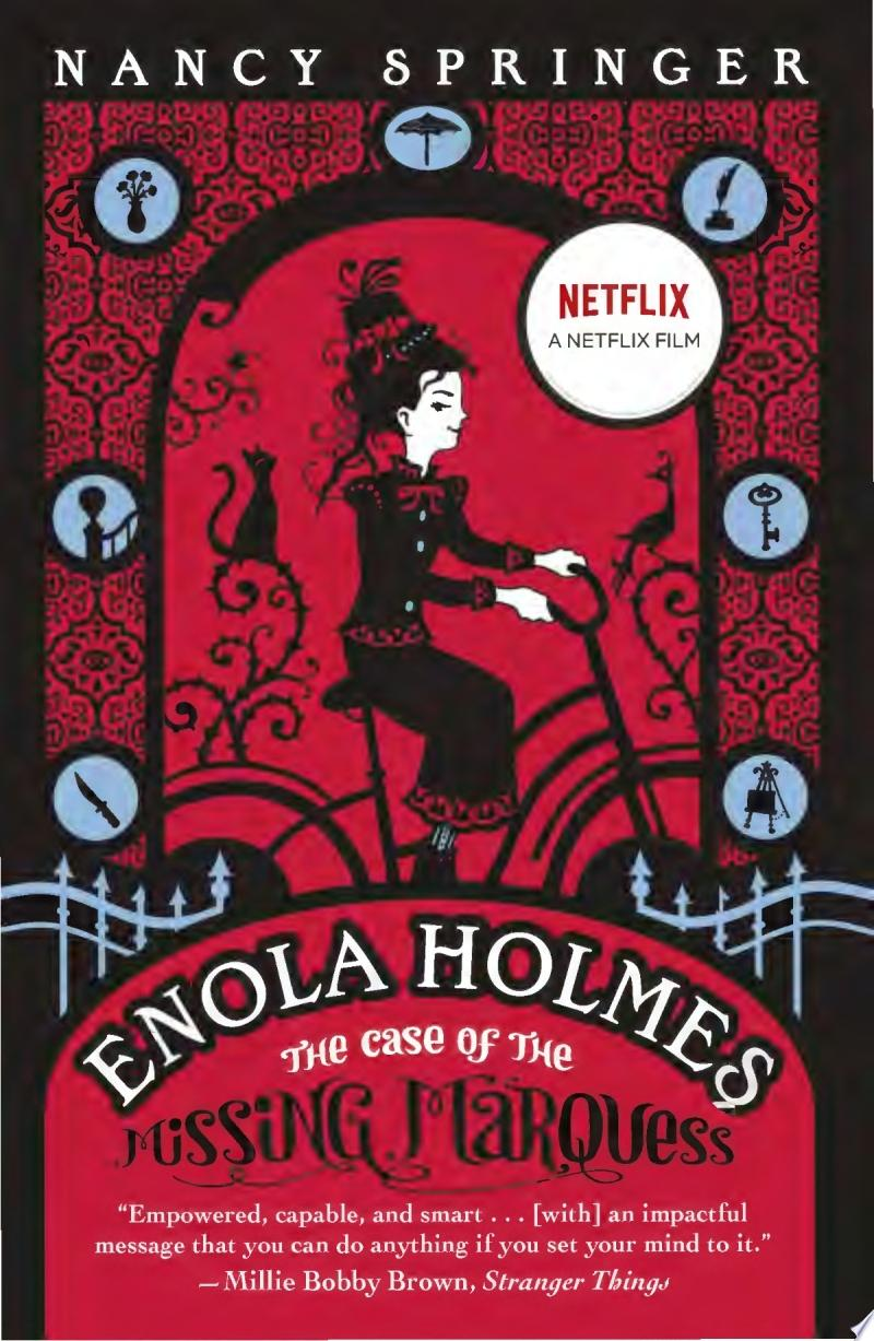 "Image for ""Enola Holmes: The Case of the Missing Marquess"""