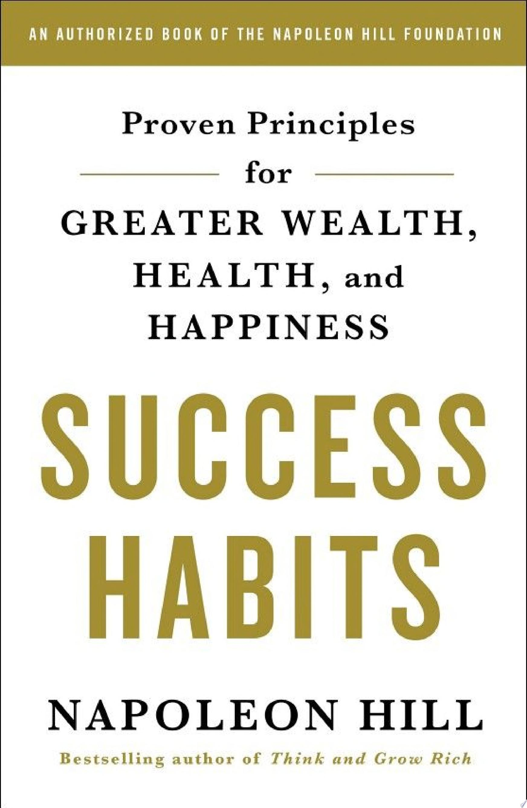 "Image for ""Success Habits"""