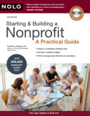 "Image for ""Starting & Building a Nonprofit"""