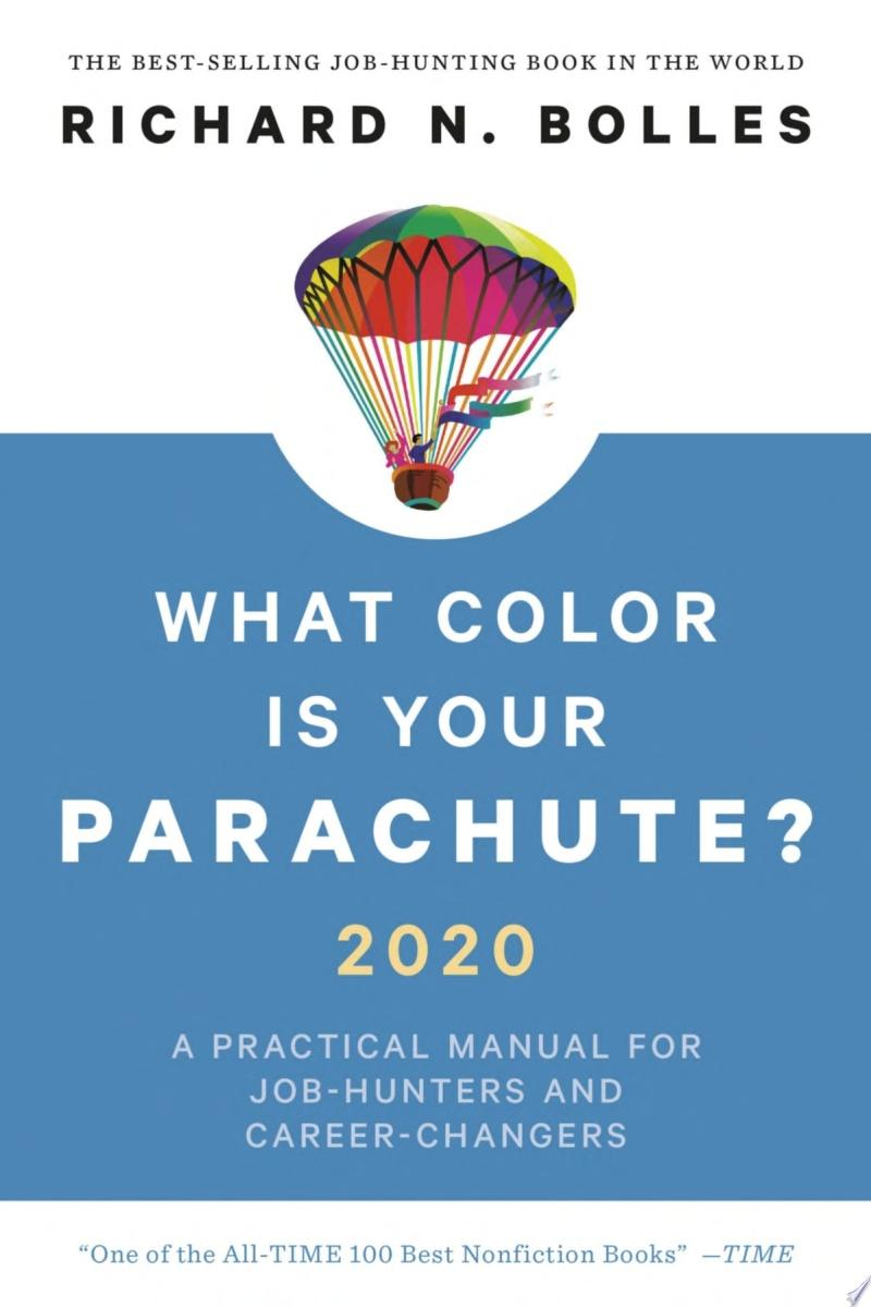 "Image for ""What Color Is Your Parachute? 2020"""