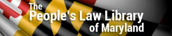 The People's Law Library of Maryland logo